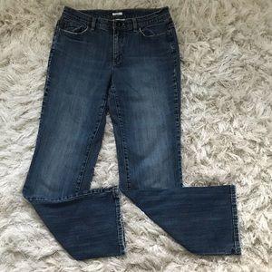 Liz & Co jeans size 8 regular stretch